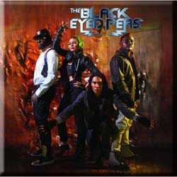 The Black Eye Peas Fridge Magnet: Band Photo The End