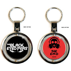 The Black Eyed Peas Premium Key-Chain: The End (Spinner)