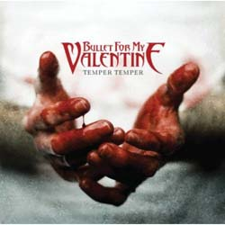 Bullet For My Valentine Single Cork Coaster: Temper Temper