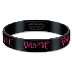 Bullet For My Valentine Gummy Wristband: Logo