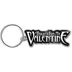 Bullet For My Valentine Keychain: Logo (Enamel In-fill)