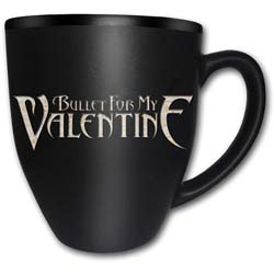 Bullet For My Valentine Boxed Premium Mug: Logo with Matt & Laser Etched Finish