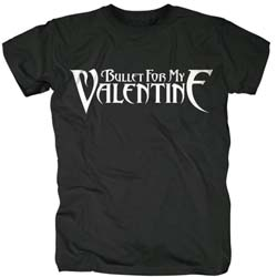 Bullet For My Valentine Unisex Tee: Logo XX-LARGE ONLY
