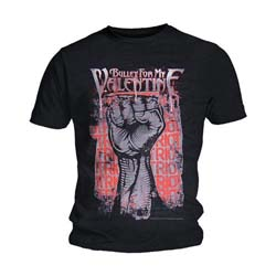Bullet For My Valentine Unisex Tee: Riot
