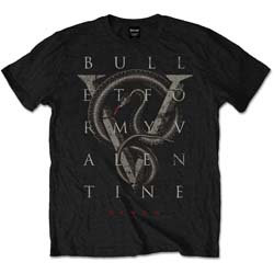 Bullet For My Valentine Unisex Tee: V for Venom