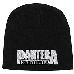 Pantera Unisex Beanie Hat: Cowboys from Hell
