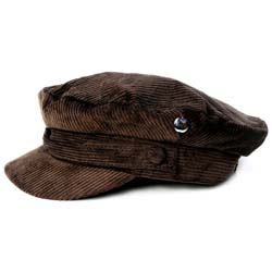 The Beatles Men's Help! Hat: Help! with Corduroy Fabric and Badge