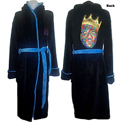 Biggie Smalls Unisex Bathrobe: Crown