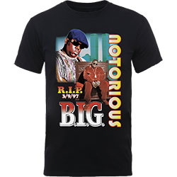 Biggie Smalls Unisex Tee: RIP Collage