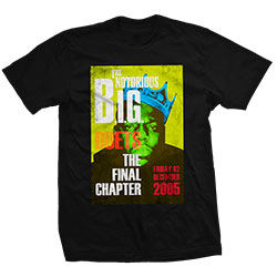 Biggie Smalls Unisex Tee: Final Chapter