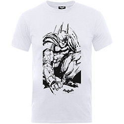 DC Comics Kids Tee: Batman Arkham Sketch