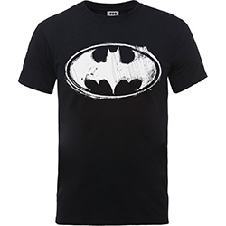 DC Comics Kids Boy's Fit Tee: Batman Sketch Logo