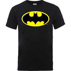 DC Comics Kids Boy's Fit Tee: Batman Logo