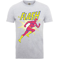 DC Comics Kid's Tee: Originals The Flash Running (Boy's Fit)