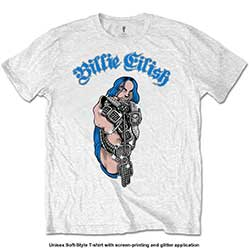 Billie Eilish Kids Tee: Bling (Glitter Application)