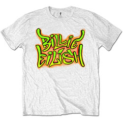 Billie Eilish Unisex Tee: Graffiti