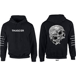 Young Thug Men's Pullover Hoodie: Skull Date (X-Large)