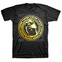 Biggie Smalls Unisex Tee: Gold Circle