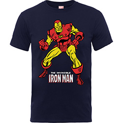 Marvel Comics Kids Boy's Fit Tee: Iron Man Pose