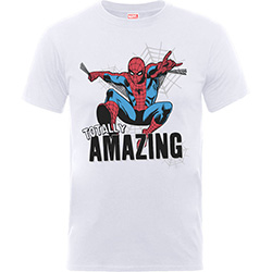 Marvel Comics Kids Boy's Fit Tee: Amazing Spiderman