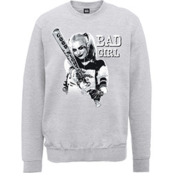 DC Comics Unisex Sweatshirt: Suicide Squad Bad Girl