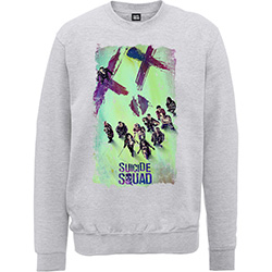 DC Comics Unisex Sweatshirt: Suicide Squad Movie Poster