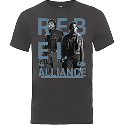 Star Wars Kid's Tee: Rogue One Rebel Alliance (Boy's Fit)