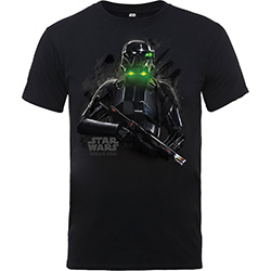 Star Wars Kids Boy's Fit Tee: Rogue One Trooper Smoke