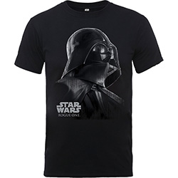 Star Wars Kids Boy's Fit Tee: Rogue One Vader Sketh