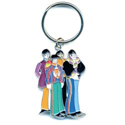 The Beatles Standard Keychain: Yellow Submarine Band