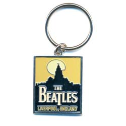 The Beatles Standard Keychain: Liverpool