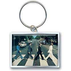 The Beatles Standard Keychain: Abbey Road Crossing