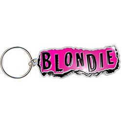 Blondie Keychain: Punk Logo (Enamel In-fill)