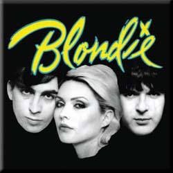 Blondie Fridge Magnet: Eat to the Beat