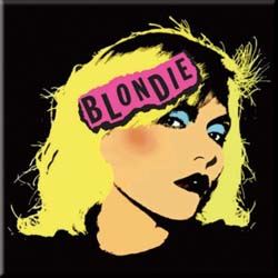 Blondie Fridge Magnet: Punk Logo
