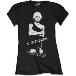 Blondie Ladies Tee: X Offender