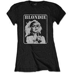 Blondie Ladies Tee: Presente Poster