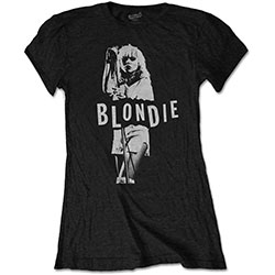 Blondie Ladies Tee: Mic. Stand