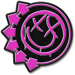 Blink-182 Standard Patch: Pink Neon Six Arrows (Patch)