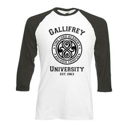 Doctor Who Men's Tee: Gallifrey University  (XX-Large Only)