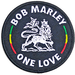 Bob Marley Standard Patch: Lion