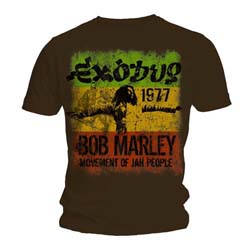 Bob Marley Men's Tee: Movement