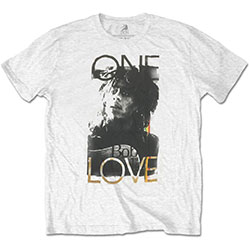 Bob Marley Men's Tee: One Love