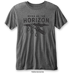 Bring Me The Horizon Men's Fashion Tee: Wound (Burn Out)
