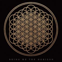 Bring Me The Horizon Single Cork Coaster: Flower