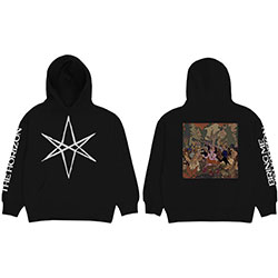 Bring Me The Horizon Unisex Pullover Hoodie: Hex PHSH Cover (Back Print)
