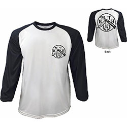 Bring Me The Horizon Men's Raglan Tee: Flick Knife with Back Printing