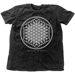 Bring Me The Horizon Fashion Men's Tee: Sempiternal (Snow Washed)