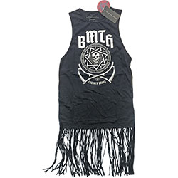 Bring Me The Horizon Ladies Tee Dress: Crooked (Tassels)