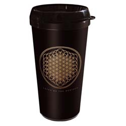 Bring Me The Horizon Travel Mug: Flower with Plastic Body